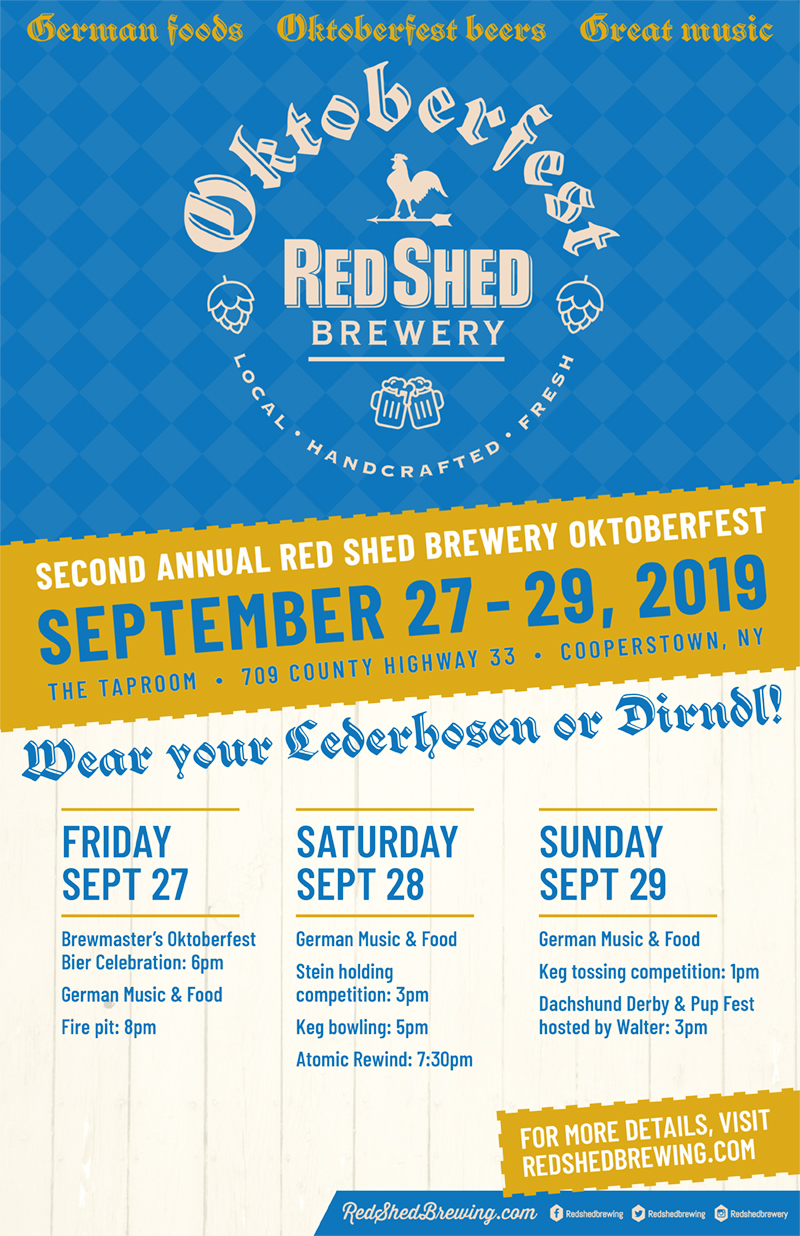 Octoberfest 2019, Red Shed Brewing