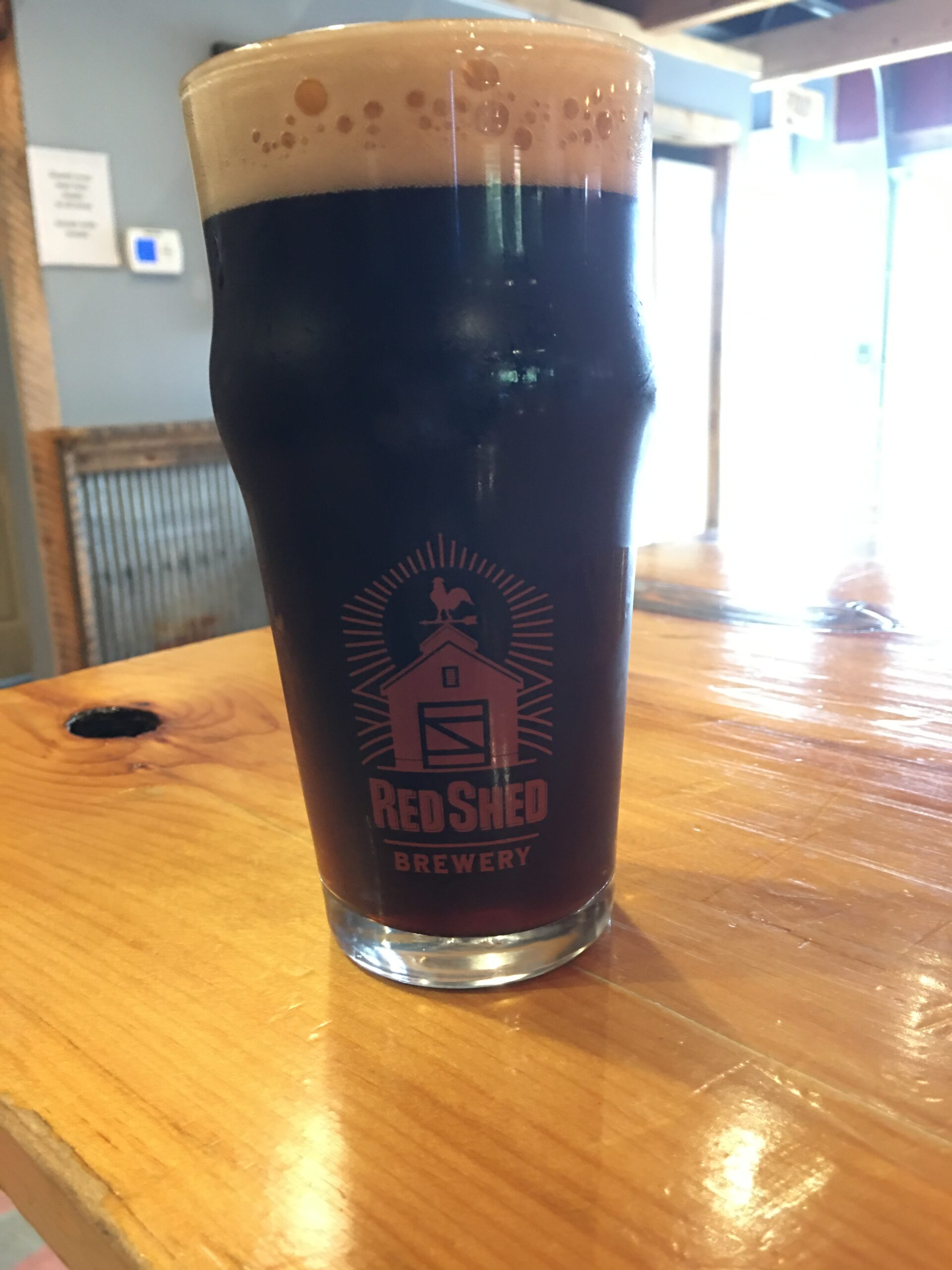 Cherry Valley Smoked Porter, Red Shed Brewing