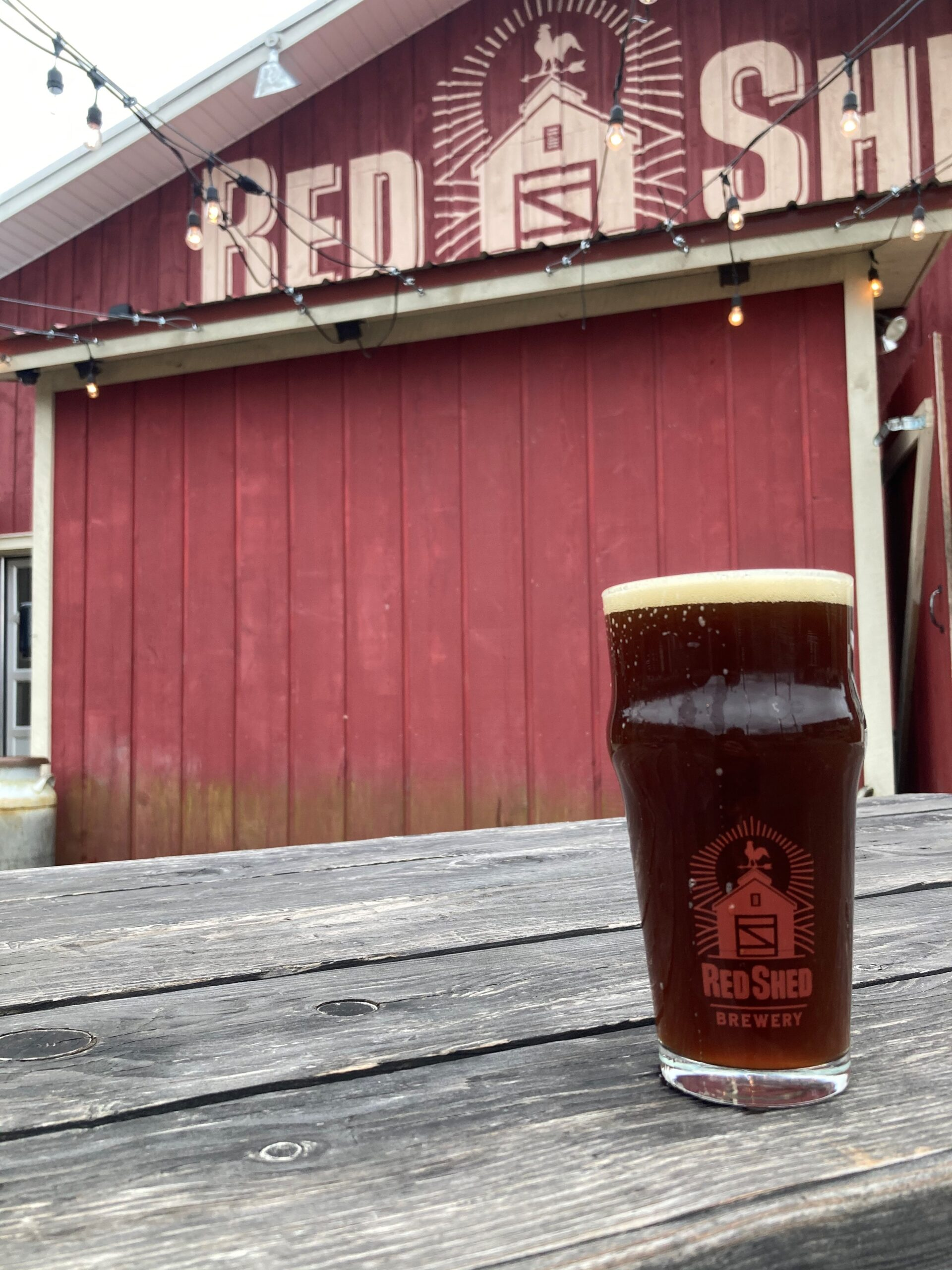 Old Codger Imperial Brown Ale, Red Shed Brewing