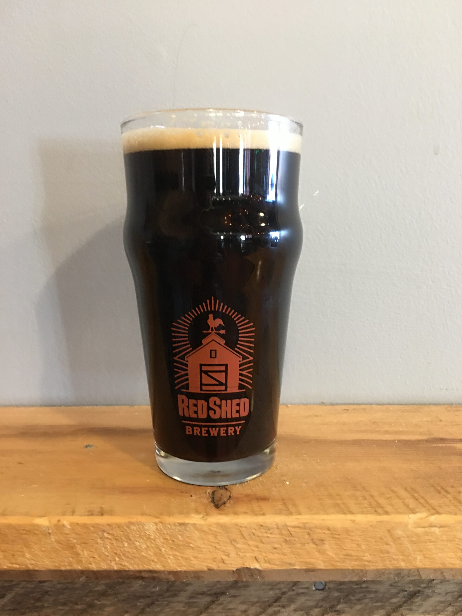 Bent Nail Black Lager, Red Shed Brewing