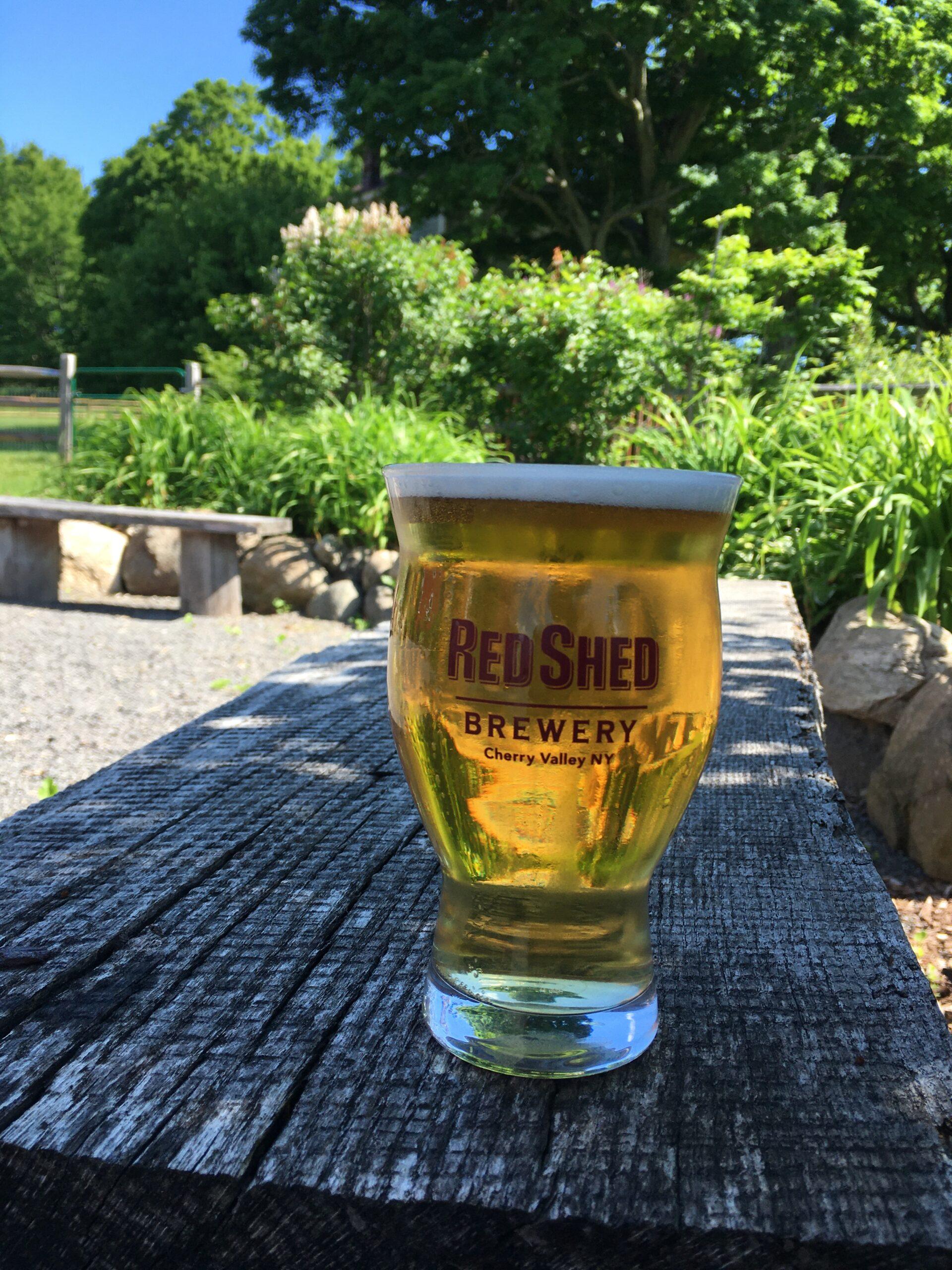 Mohawk Pilsner, Red Shed Brewing