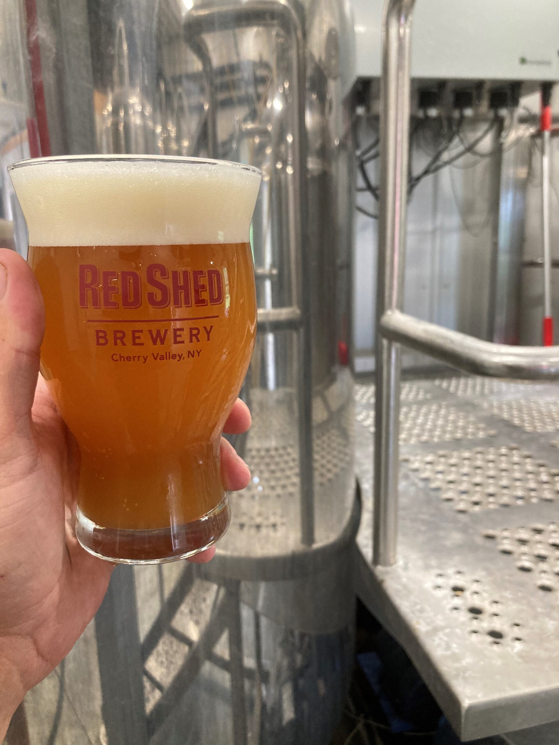 Weathervane Farmhouse Ale, Red Shed Brewing